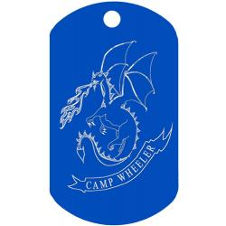 Reading Dog Tag J004