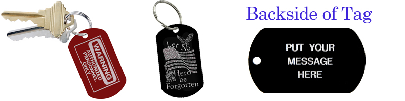 Key Rings and Luggage Tags